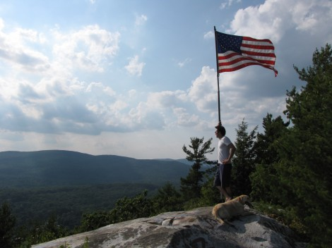 Monument Mountain preserve, trails extended to village of Housatonic