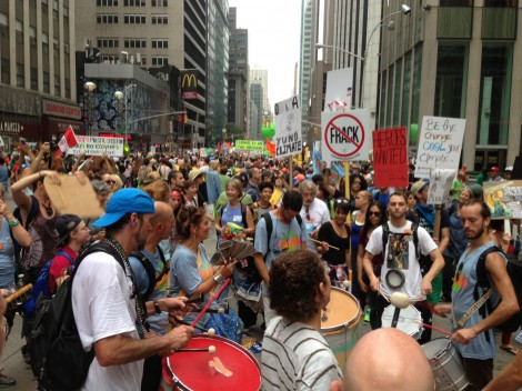 Reflections on the People's Climate March in New York
