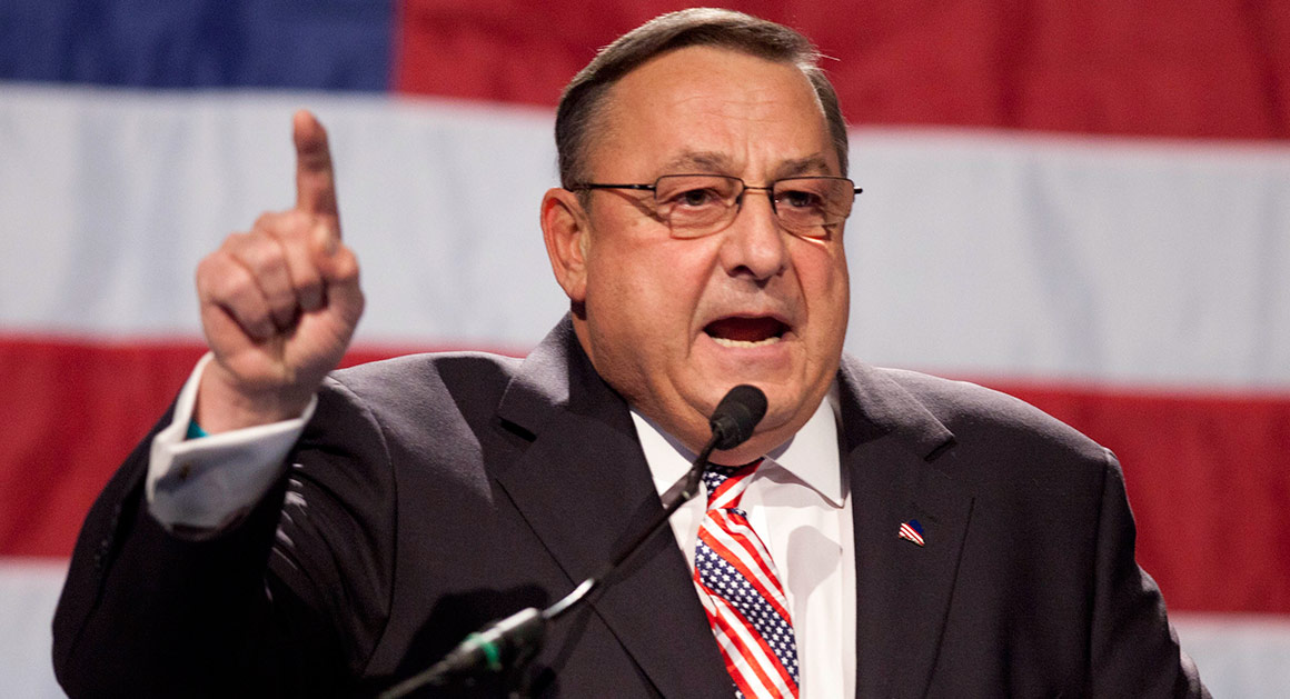 Gov. Paul LePage of Maine.