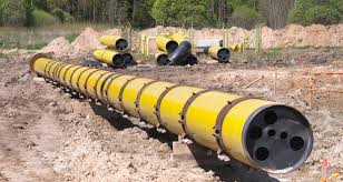 Leadmarcellus shale pipe