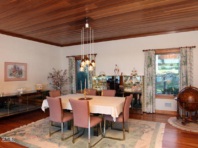 The original dining room.