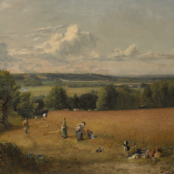 Turner and Constable: The Inhabited Landscape