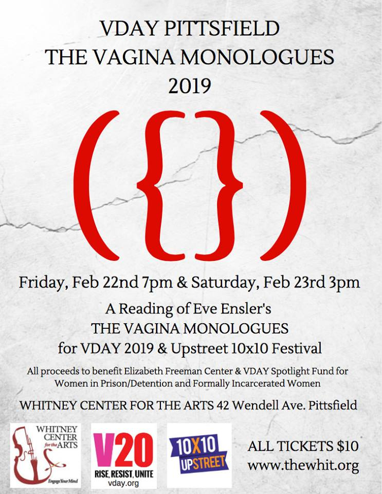 VDay Pittsfield - The Vagina Monologues 2019