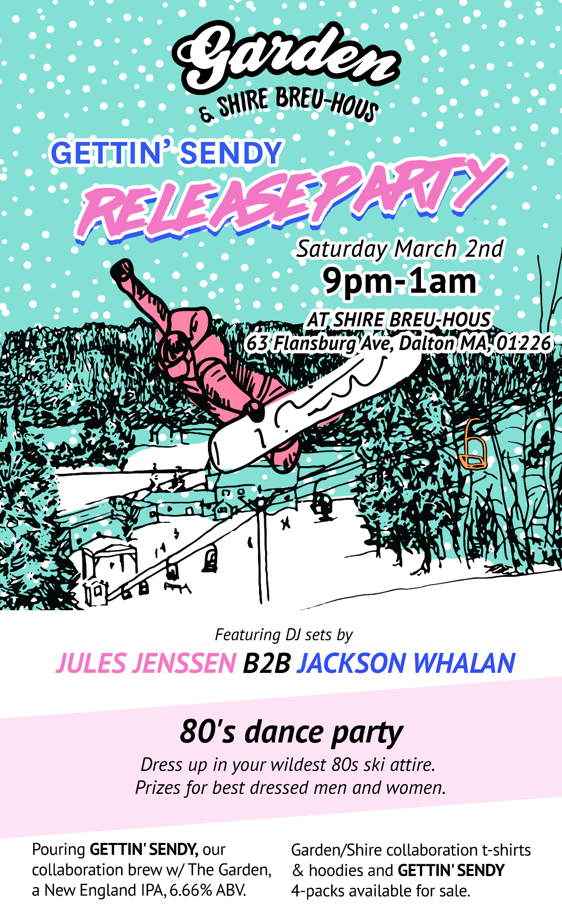 Gettin' Sendy Release Party