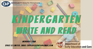 Kindergarten Write and Read with Kim