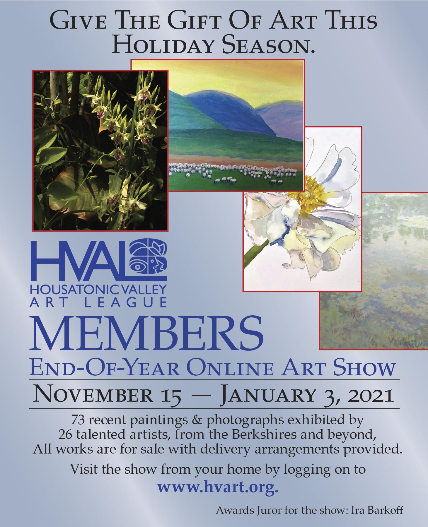 HVAL Members End-of-Year Online Art Exhibit