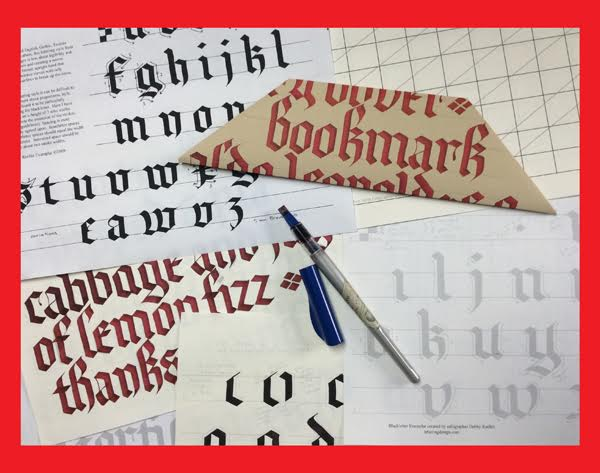 Introduction to Calligraphy: Blackletter with Debby Reelitz