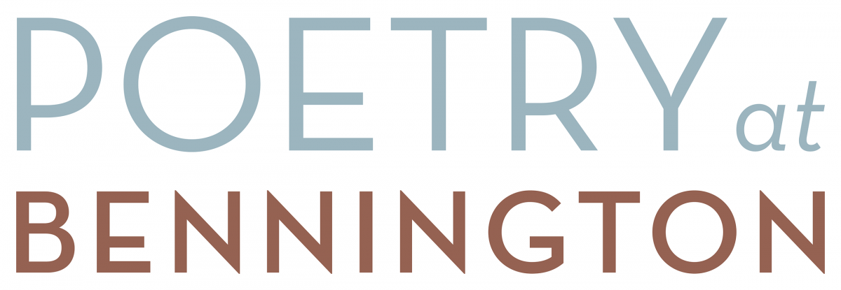 Virtual Spring 2021 Poetry at Bennington Series