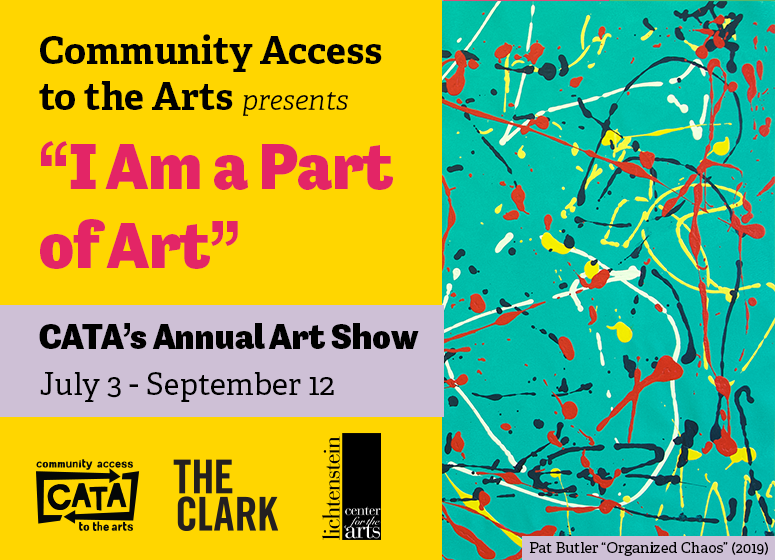 I AM A PART OF ART: CATA at the Lichtenstein Center for the Arts