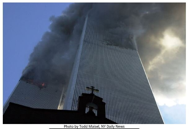 20 Years After 9/11: Photography Exhibit by Todd Maisel with lecture Monday, Sept. 13