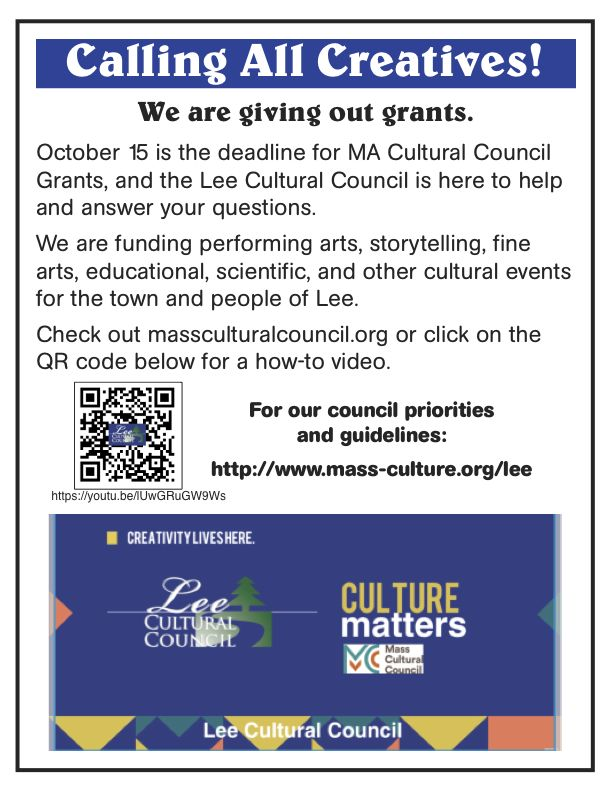 Calling All Creatives in Berkshire County