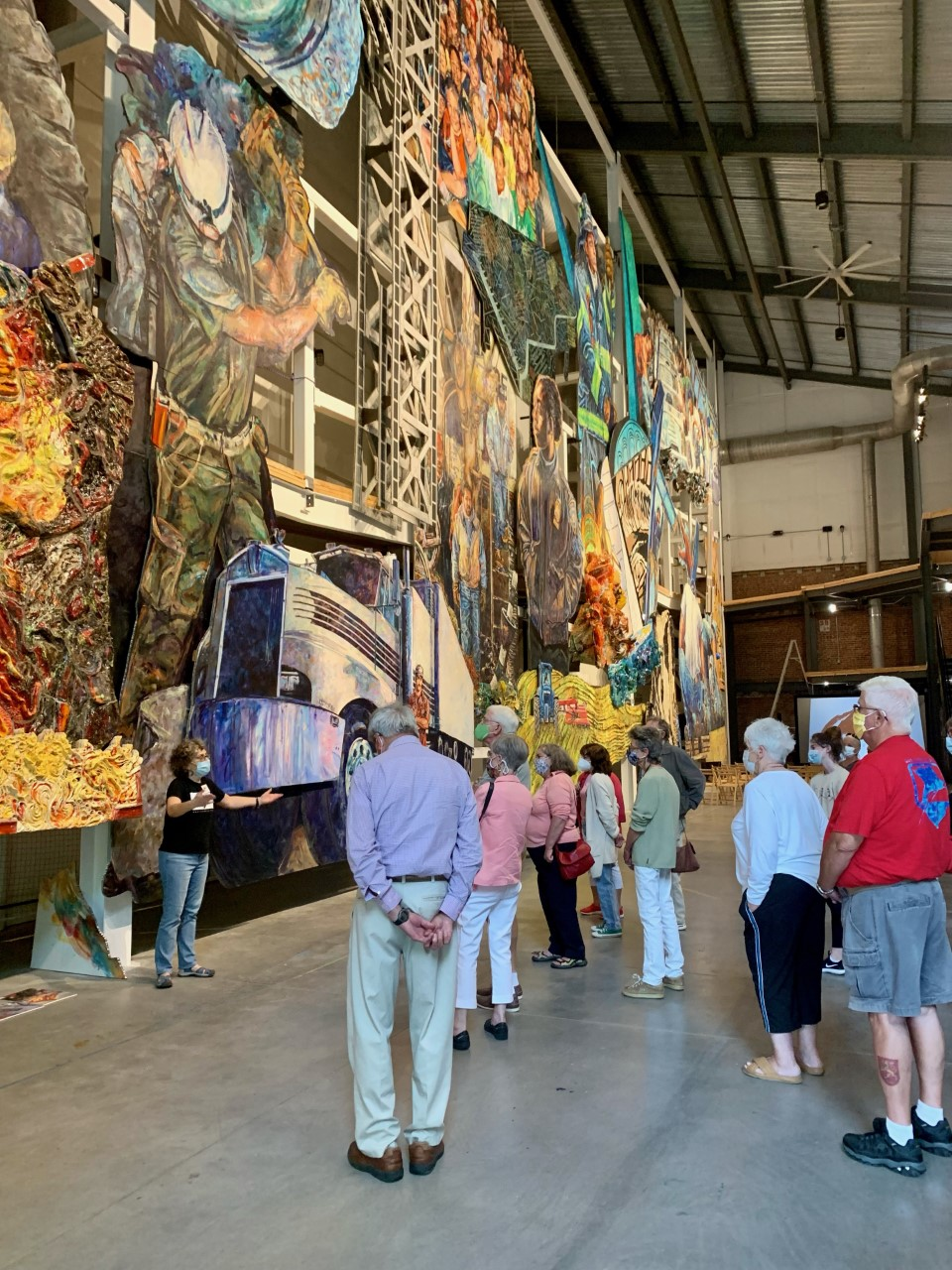 Mural Preview Tours at the American Mural Project