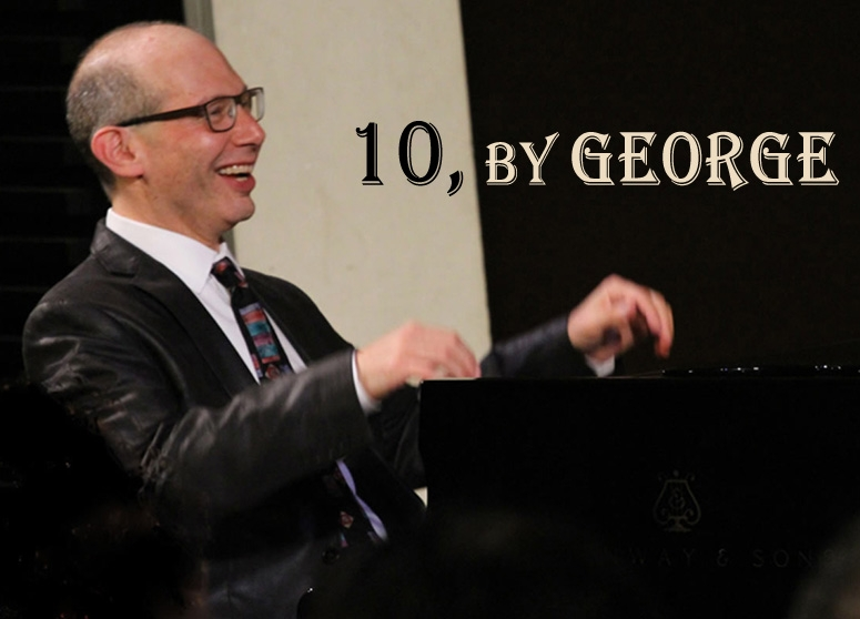 10, by George: Ted Rosenthal explores the Gershwin songbook