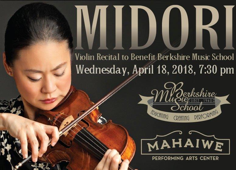 Berkshire Music School Presents Midori