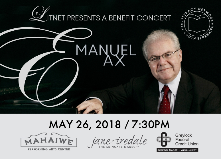 Literacy Network Benefit Concert with Emanuel Ax