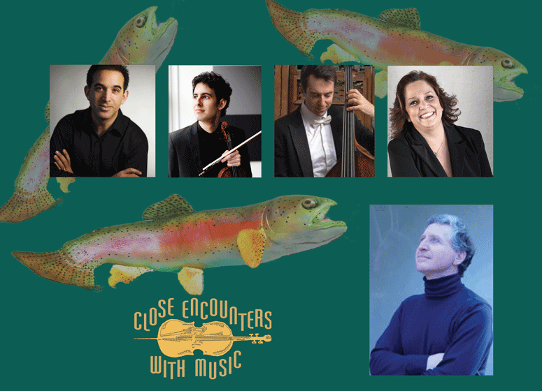 Close Encounters With Music presents: Mozart and Schubert - Marzipan and the Trout