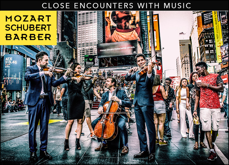 Close Encounters With Music presents: The Art of the Quartet - The Escher String Quartet