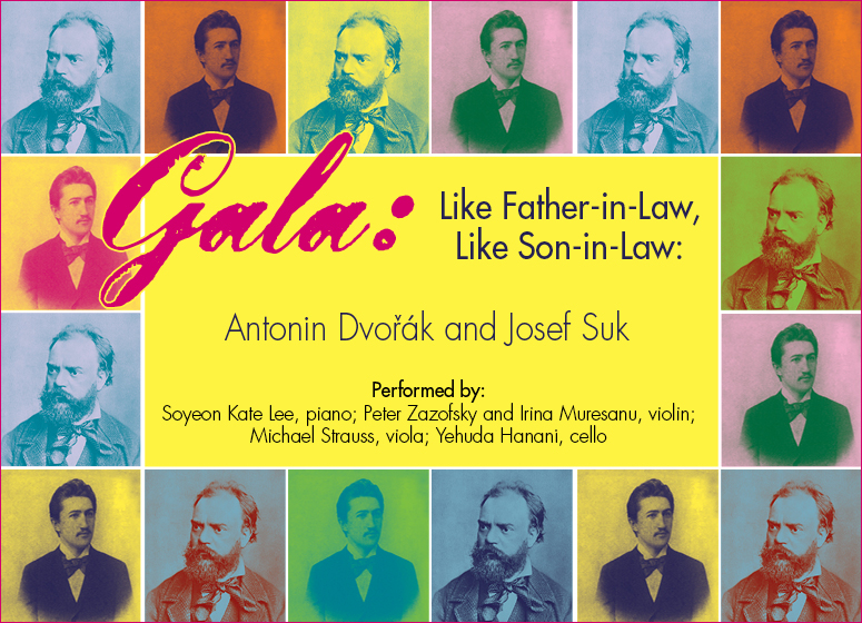 Close Encounters With Music presents: Like Father-in-Law, Like Son-in-Law: Antonin Dvorak and Josef Suk