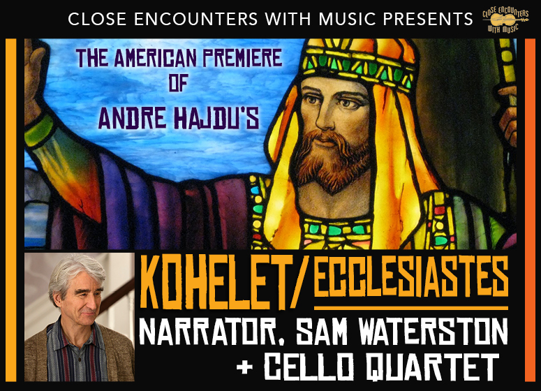 CEWM presents: the American Premiere of Andre Hadju's