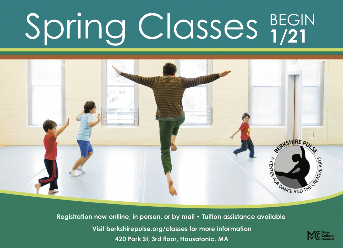 Berkshire Pulse Spring Classes - Register Now!