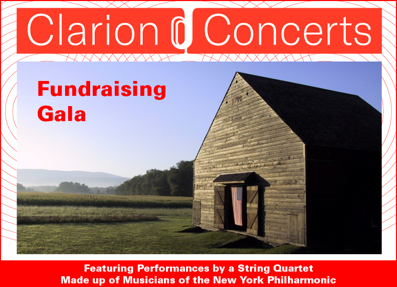 Clarion Concerts Spring Fundraiser